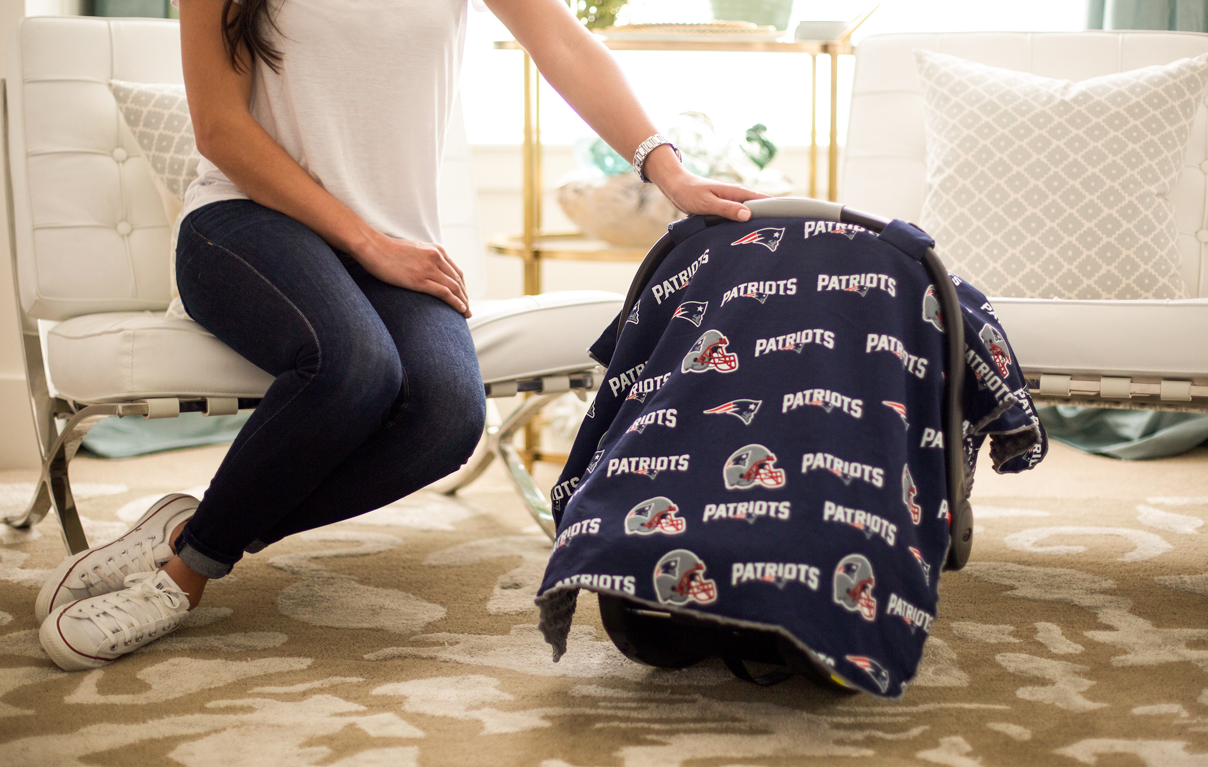 Continue Shopping & Canopy Couture - New England Patriots