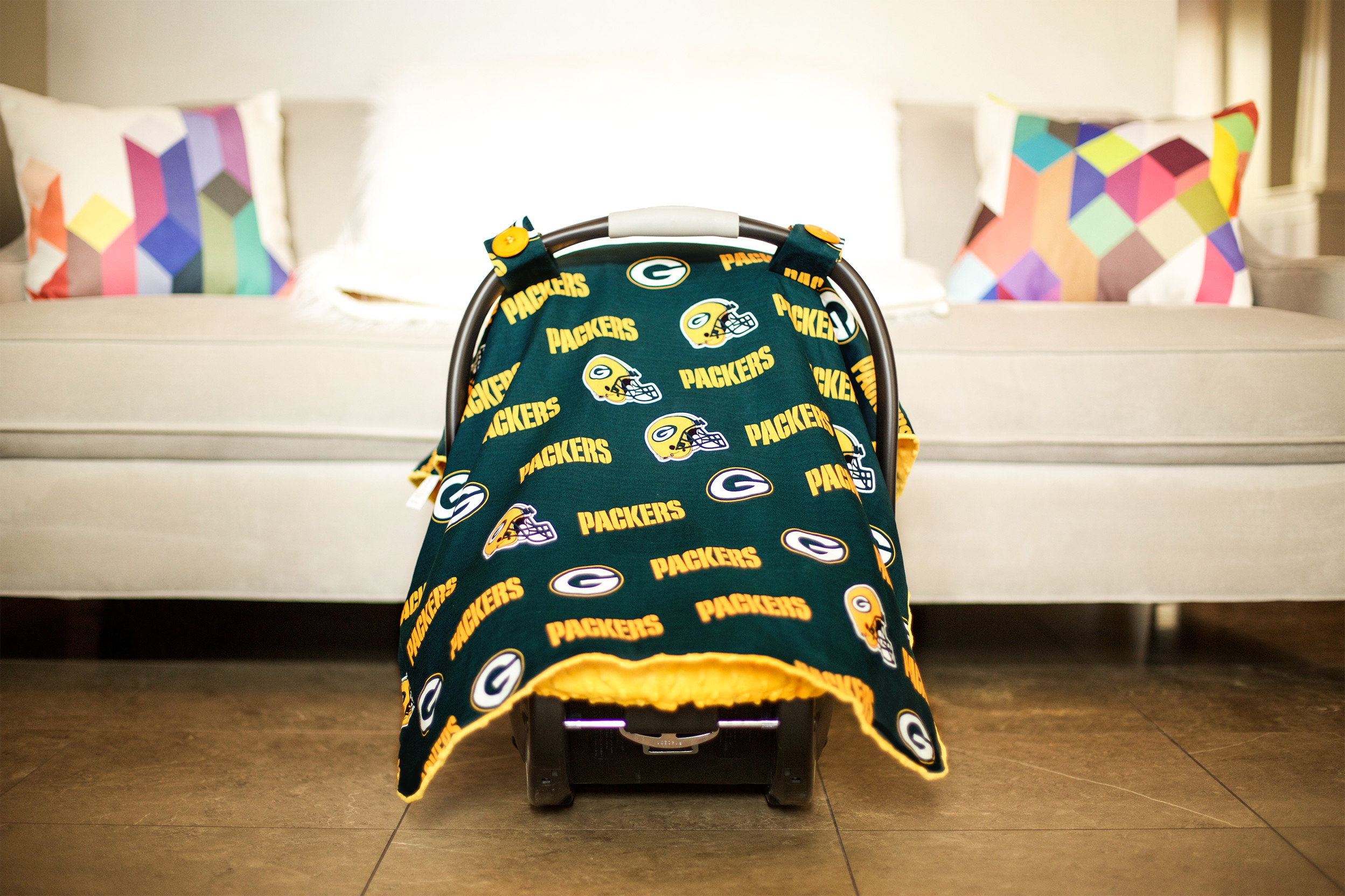 Continue Shopping & Canopy Couture - Green Bay Packers