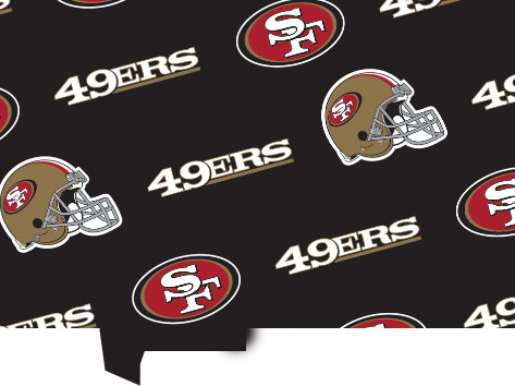 Continue Shopping & Canopy Couture - San Francisco 49ers