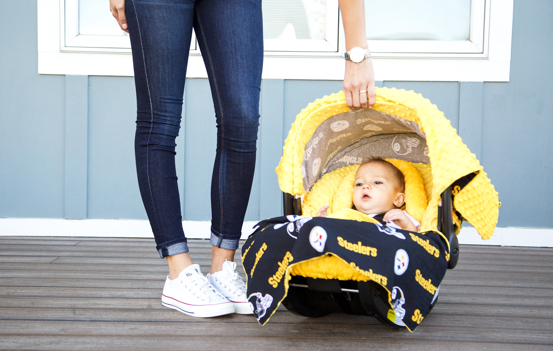 Continue Shopping & Canopy Couture - Pittsburgh Steelers Whole Caboodle