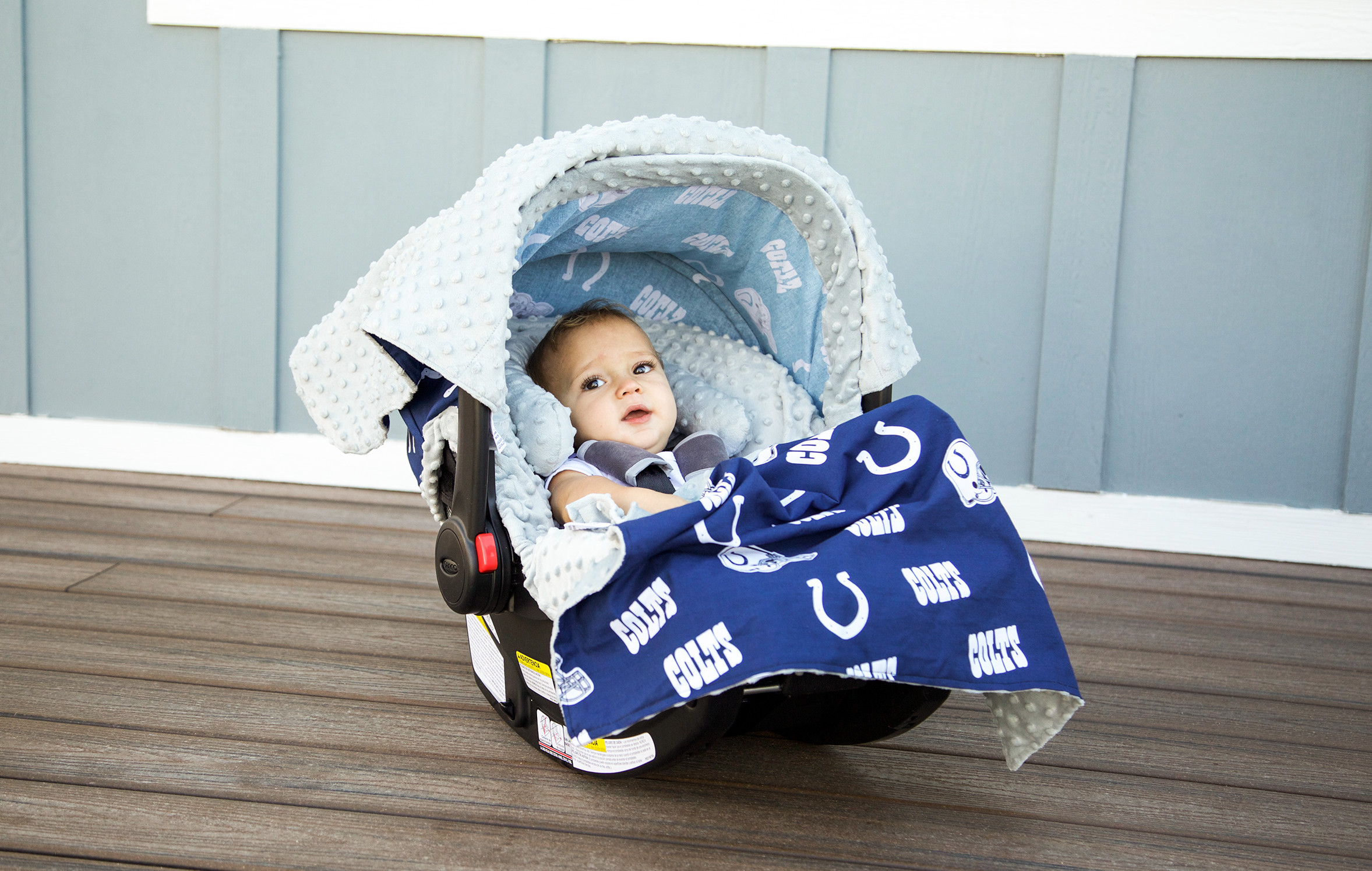 Canopy couture indianapolis colts whole caboodle for Canopy couture