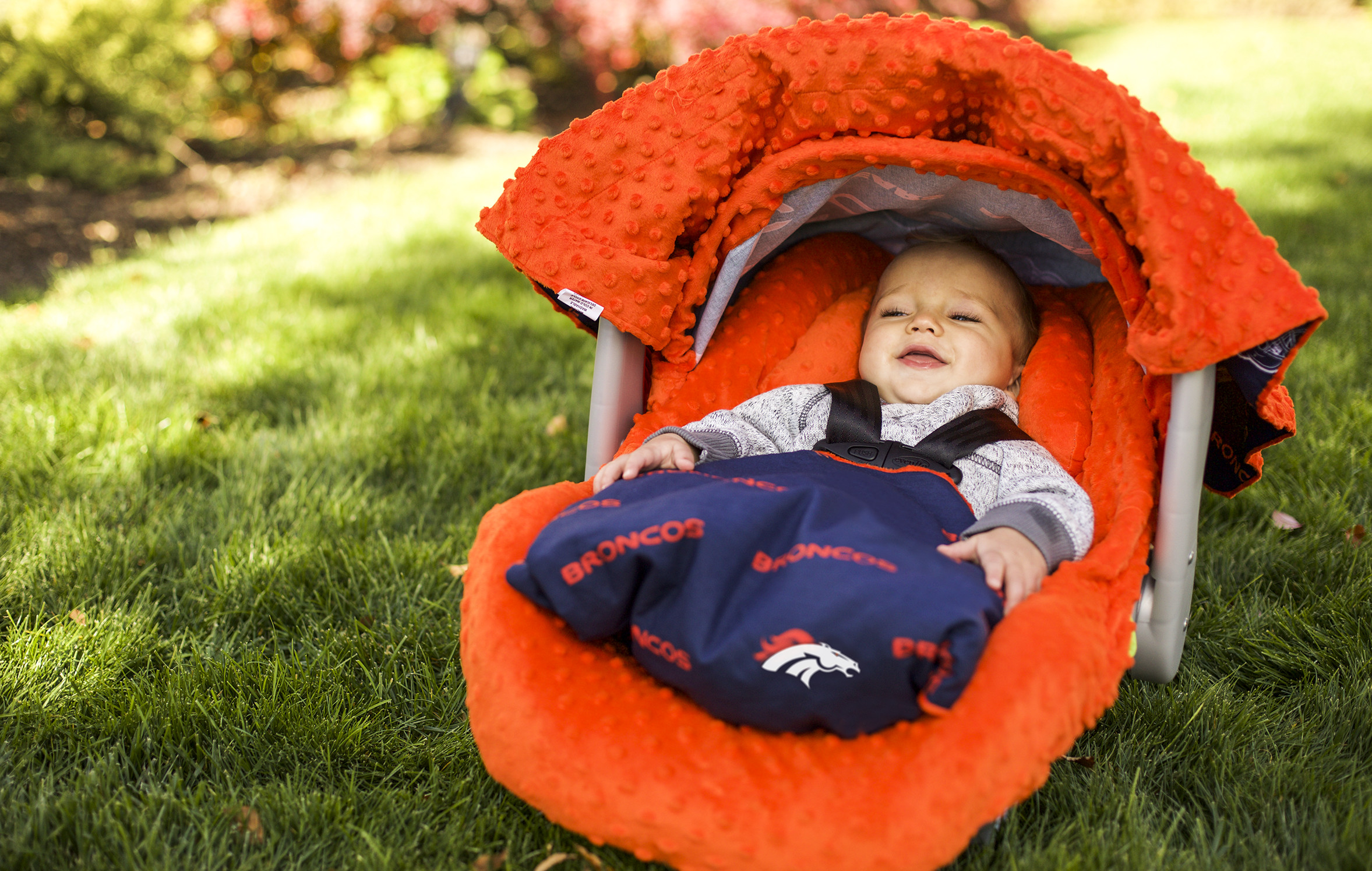 Canopy couture denver broncos whole caboodle for Canopy couture
