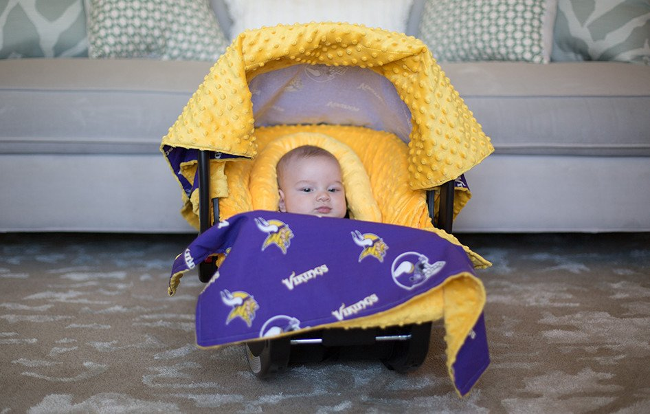 Minnesota Vikings Whole Caboodle. Continue Shopping & Canopy Couture - Minnesota Vikings Whole Caboodle