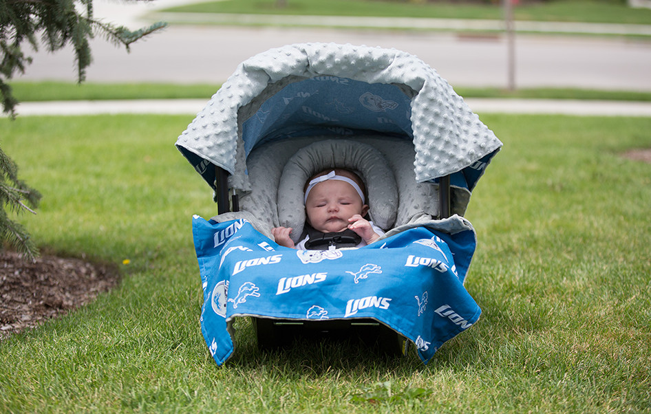 Nfl Detroit Lions Car Seat Cover