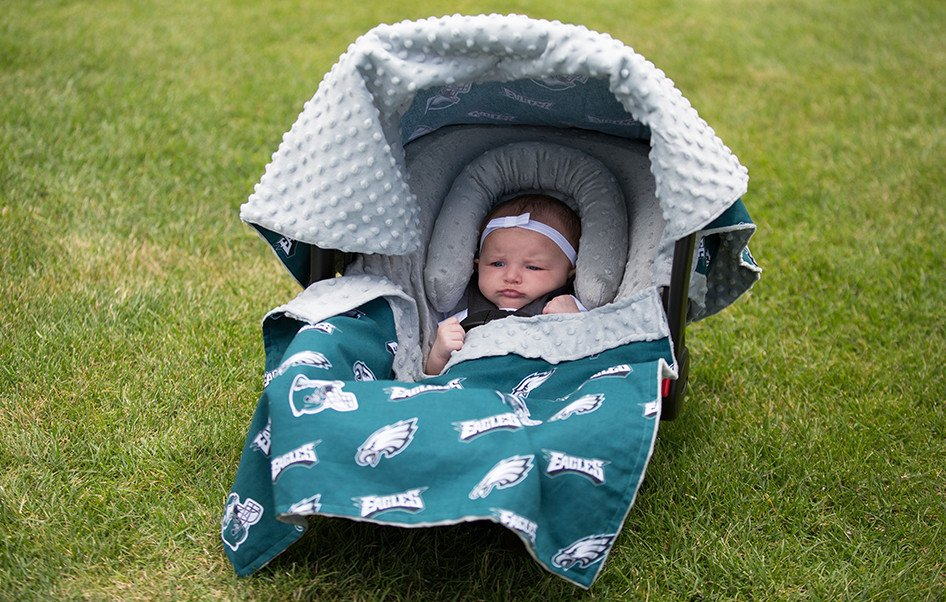 Canopy couture philadelphia eagles whole caboodle for Canopy couture