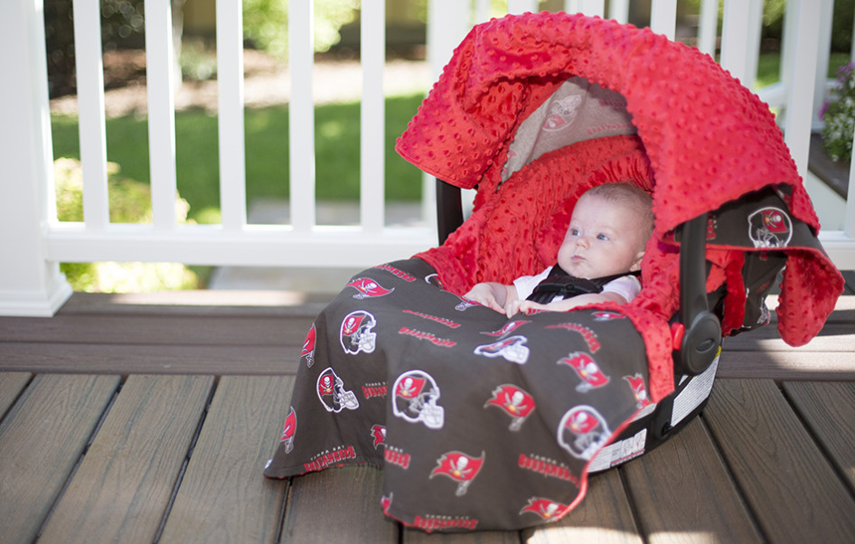 Canopy couture tampa bay buccaneers whole caboodle for Canopy couture