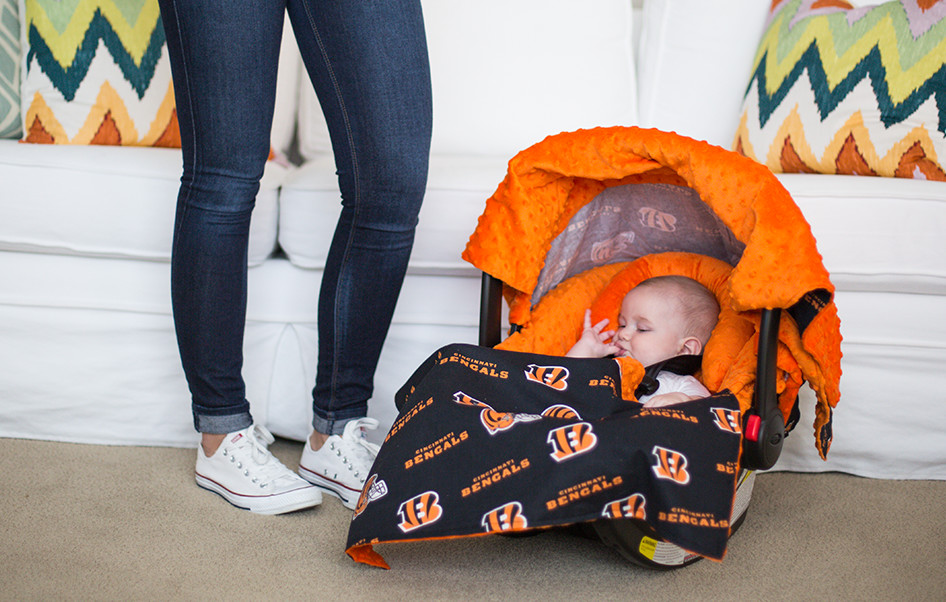 Canopy couture cincinnati bengals whole caboodle for Canopy couture