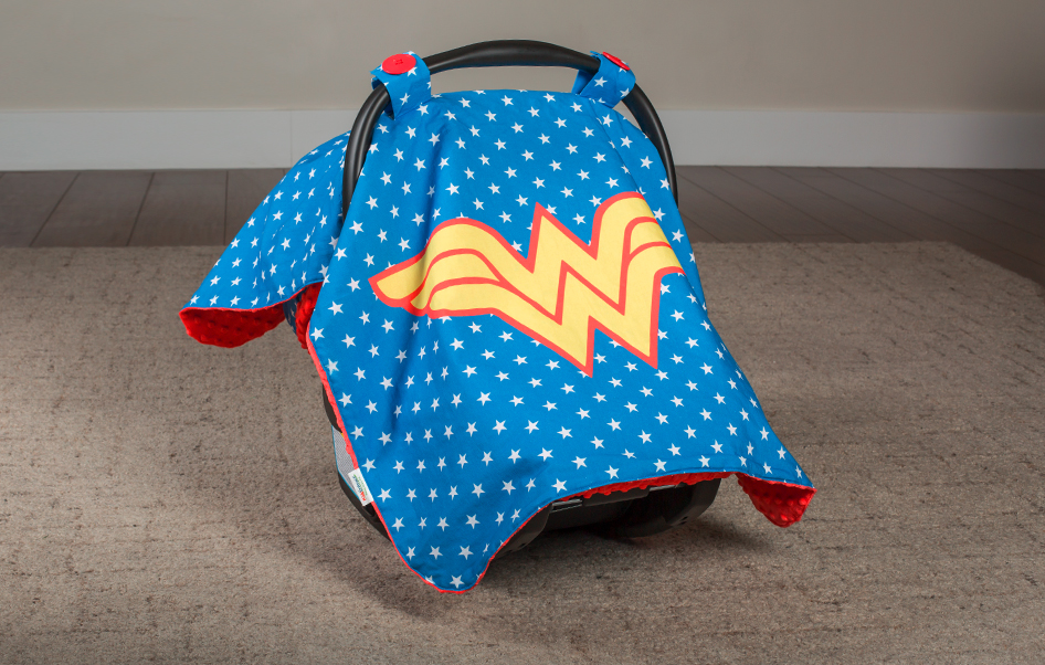 Continue Shopping & Canopy Couture - Wonder Woman