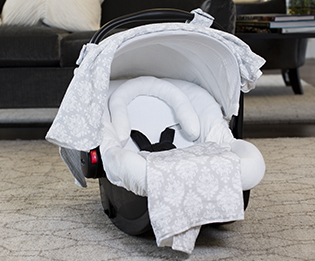 Muslin Canopies Category Hover & Canopy Couture - Carseat Covers Carseat Umbrellas Carseat Blankets ...
