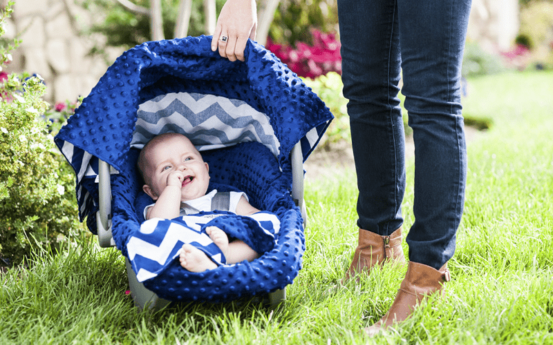 FREE Baby Carseat Canopy ($50 Value – Just Pay Shipping!)